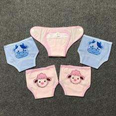 Combo 5 chiếc quần đóng bỉm Baby Leo cho bé đủ 3 size (1, 2, 3)