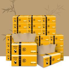 Thùng 27 gói (300 tờ/gói) khăn giấy sợi tre SIPIAO