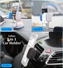 GIÁ ĐỠ ĐIỆN THOẠI, kẹp điện thoại đa năng 3 chức năng gắn trên xe ô tô độc đáo