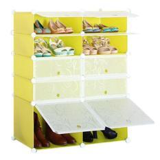 Tủ giày dép 10 ngăn cao cấp xếp gọn Tâm house gọn gàng nhà cửa G10001