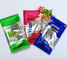 01 Gói Ủ Tóc Bio Treatment Thái Lan (XANH DƯƠNG) Dành Cho Tóc Khô Xơ