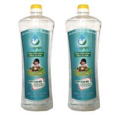 Combo 2 chai nước rửa rau quả Sagren