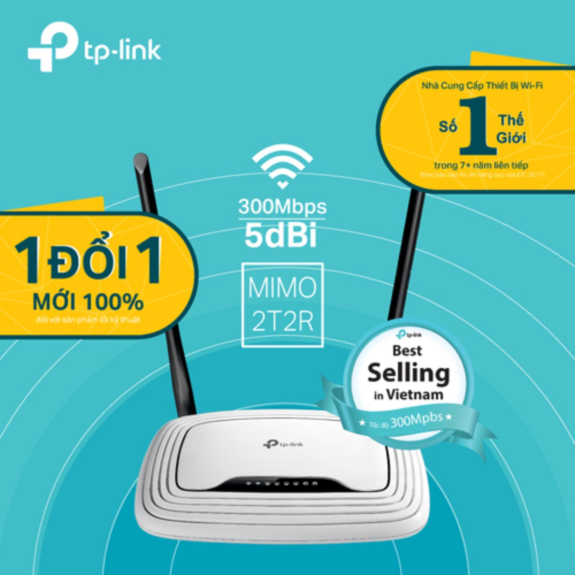 So sánh giá TP-Link – TL-WR841N – Router Wi-Fi Chuẩn N 300Mbps-Hãng phân phối chính thức Tại TP-Link