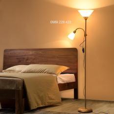 Đèn cây trang trí 2 bóng ( đèn 2 nhánh kiểu dáng IKEA) -KH620
