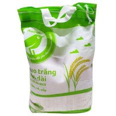 Gạo trắng hạt dài Auchan túi 5kg