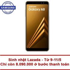 Samsung Galaxy A8 32GB RAM 4GB 5.6inch (Vàng) – Hãng phân phối chính thức