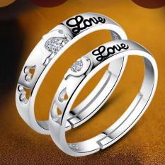 Nhẫn Đôi Tình Yêu Thời Trang Chữ LOVE Lãng Mạn Cho Tình Nhân (Nhẫn cặp 2 cái) NDO01-LOVE
