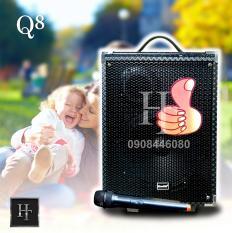 Loa Bluetooth Q8 – Tặng Mic không dây