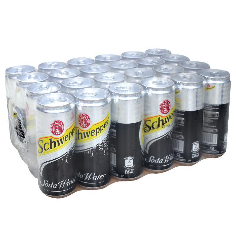 Soda water Scheweppes 24 lon x 330ml