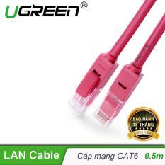 Dây mạng bấm sẵn 2 đầu Cat6 UTP Patch Cords UGREEN NW101 – 11220 dài 0.5M – Hãng phân phối chính thức