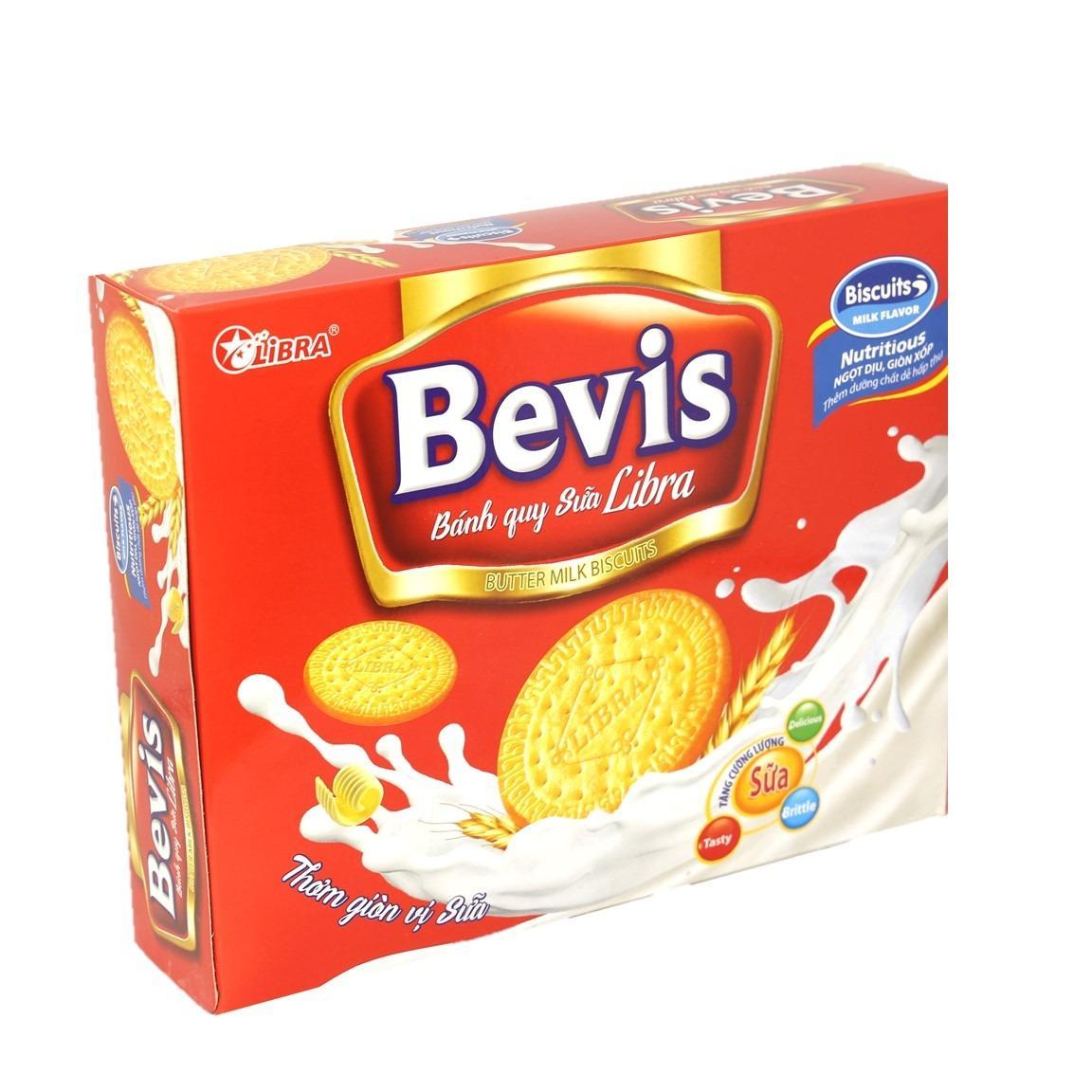 Giảm giá Bánh quy sữa Bevis Biscuits 280g