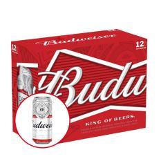 Budweiser lon 500ml – Thùng 12 lon