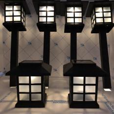 Combo 6 đèn sân vườn NLMT chữ nhật HT01-023v