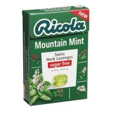 Bộ 3 Kẹo thảo mộc bạc hà Mountain Mint Ricola 45g ( Hộp)