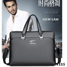 Túi xách nam, túi xách công sở hàng Quảng Châu cao cấp BADENROO HM18-VI35 THshop