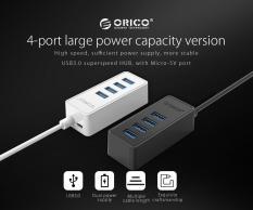 Bộ chia cổng 4 USB 3.0 Orico W5PU3 – thêm cổng usb OTG kết nối với điện thoại chơi game moble, pubg …sự thay thế hoàn hảo cho bộ chia 4 cổng W5PH4, chuẩn usb 3.0 cho tốc độ đọc dữ liệu lên tới 5GB