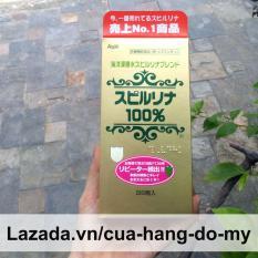 Thực phẩm Tảo Biển Xoắn Spirulina Nhật Bản Hộp 2200 Viên, tảo biển xoắn spirulina tốt cho sức khỏe – Tem đỏ nội địa NHẬT