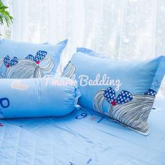 Bộ ga gối giường Cotton Poly Tmark (Cô gái đeo túi)