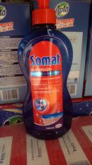 Combo 2 chai nước làm bóng Somat 500ml (Nước trợ xả dùng cho máy rửa bát)