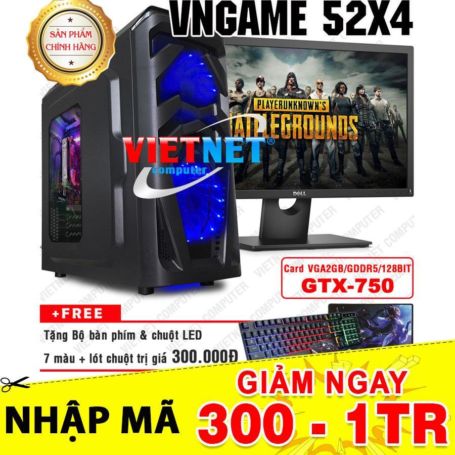 Đánh giá Máy tính chiến game VNgame 52X4 core i5 2400 GTX 750 8GB Hdd 500GB + LCD Dell 22inch Tại VietNet Computer