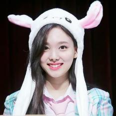 Mũ Tai Thỏ Nayeon Twice KPOP Vểnh Được Siêu Đáng Yêu