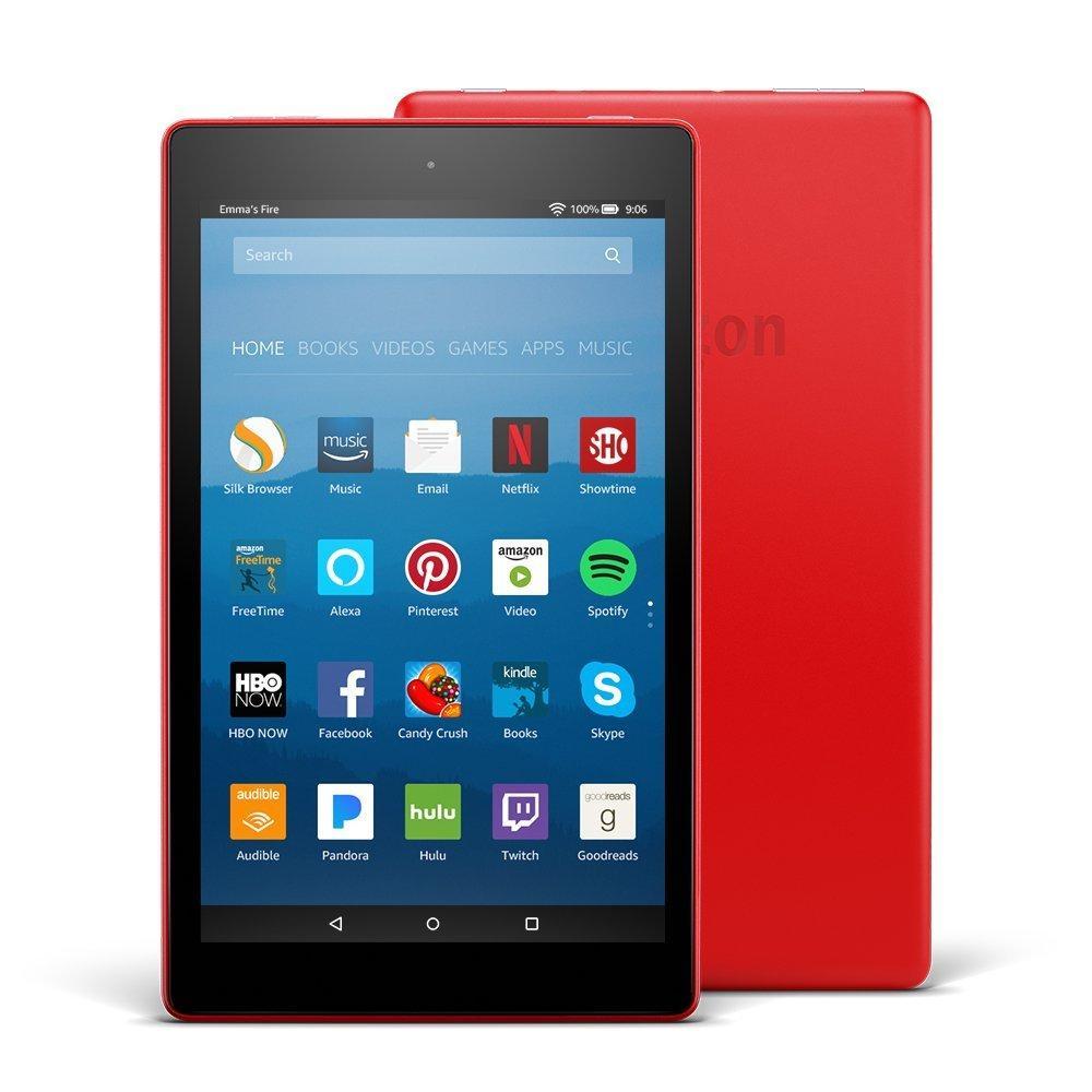 Kindle Fire HD8 màu đỏ