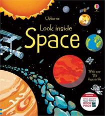 Sách Tiếng Anh Lật Mở Look inside Space – LSPACE