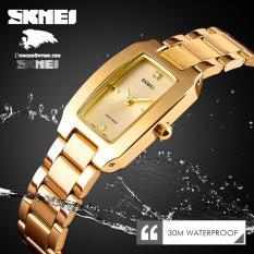 Đồng hồ nữ dây không gỉ Skmei IR1400 sang trọng (Gold & Silver)
