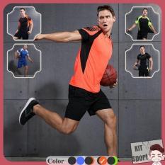 Set bộ đồ quần áo thể thao nam Basic – Hiệu Vansydical [Hàng nhập khẩu] (đồ tập thể thao, tập gym, thể dục,thể hình, yoga)KIT Sport