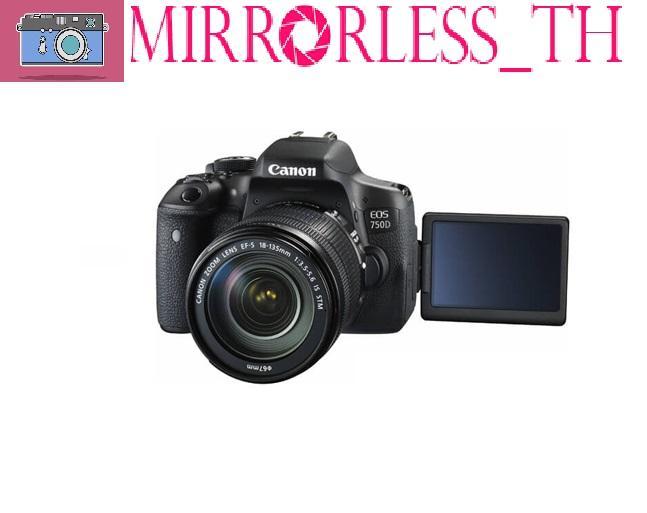Canon 750D kèm kit 18-55mm IS STM