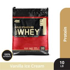 Thực phẩm bổ sung Optimum NutritionGold Standard 100% Whey Vanilla Ice Cream10 lbs