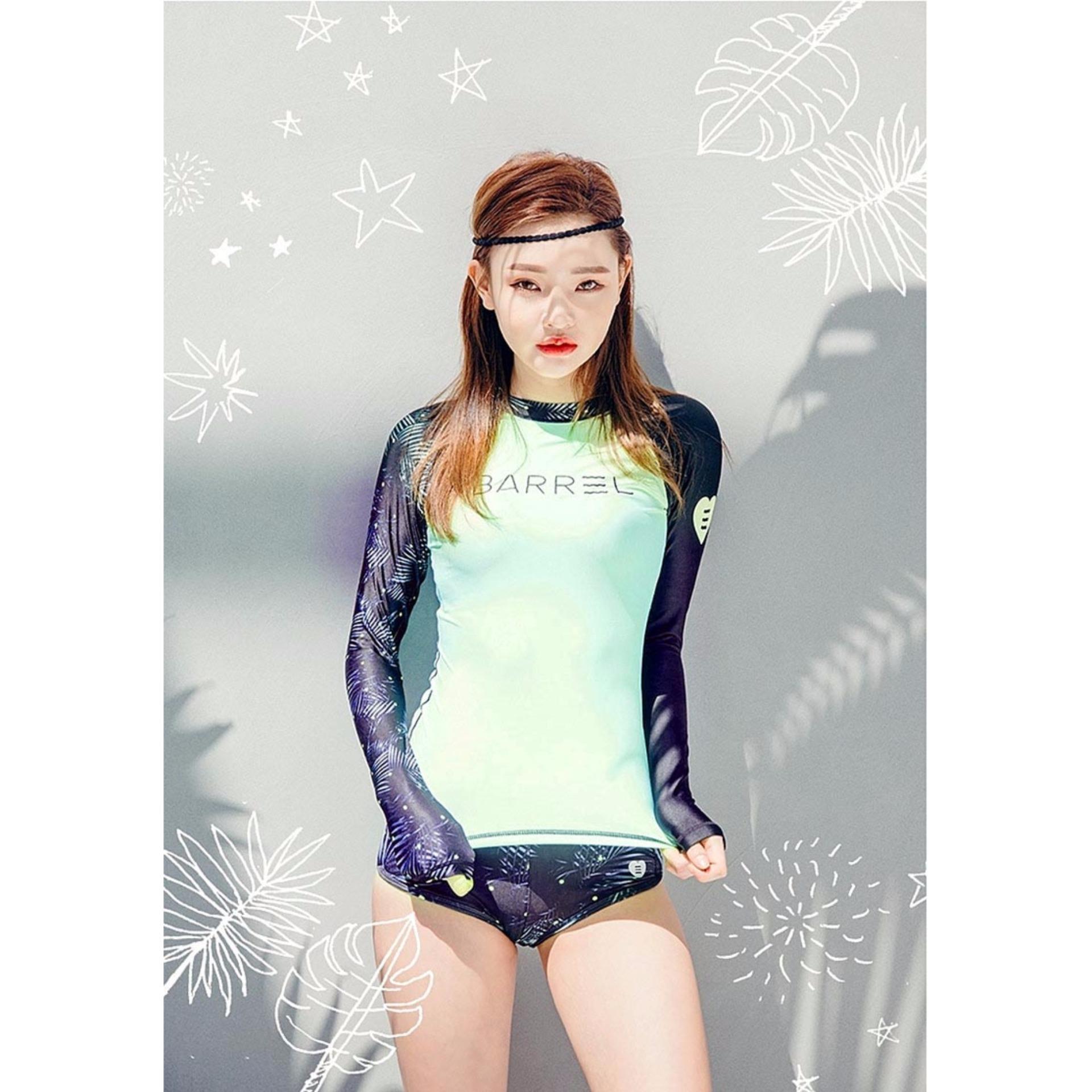 Bộ đồ bơi nữ dài tay BARREL