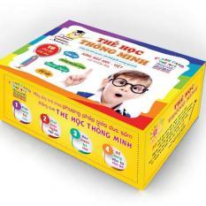 Bộ thẻ học thông minh 16 chủ đề (416 thẻ) song ngữ Anh-Việt, dạy học sớm cho bé theo phương pháp giáo dục sớm Glenn Doman, giúp trẻ phát triển não bộ [PANSO Store]