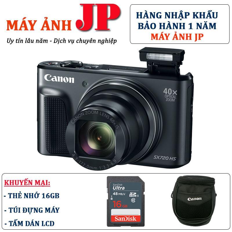Canon SX720 HS (Hàng nhập khẩu) – Tặng thẻ 16G + túi máy + tấm dán LCD