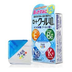 Thuốc Nhỏ Mắt Rohto Nhật Bản_Xanh Mát Lạnh