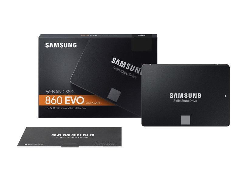 Bảng Giá Ổ cứng SSD Samsung 860 Evo 2.5-Inch SATA III – 250GB Tại Lưu Trữ Sài Gòn