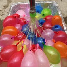 Bộ đồ chơi 111 bong bóng nước 3 chùm 3 màu sắc