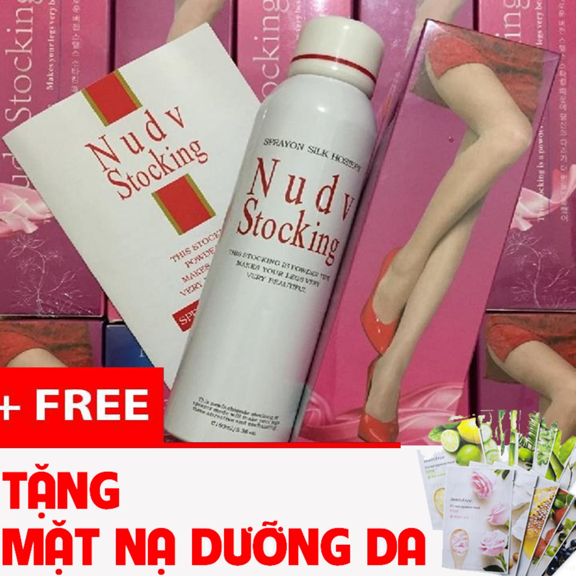 Tất Phun Chân Và Body Nudv Stocking Hàn Quốc
