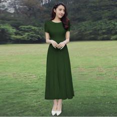 Đầm maxi voan cổ sen Misa Fashion MS289