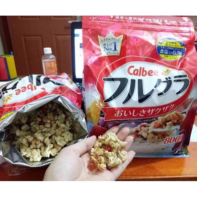Ngũ Cốc Trái Cây Calbee Nhật Bản