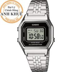 Đồng hồ nữ dây kim loại Casio Anh Khuê LA680WA-1DF
