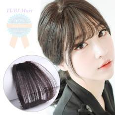 Tóc mái thưa giả kiểu Hàn Quốc màu đen