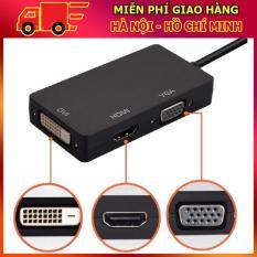 MIỄN PHÍ VẬN CHUYỂN – HMDI Chuyển Đổi Mini 1080 P Display Port Thunderbolt để DVI VGA HDMI 3 trong 1 Chuyển Đổi Adapter cho Máy Tính Xách Tay-intl (DC977)