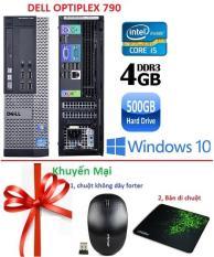 Máy tính để bàn Dell 790 Core i5 RAM 4GB HDD 500GB – Tặng Chuột không dây chính hãng , bàn di chuột – Bảo hành 02 Năm