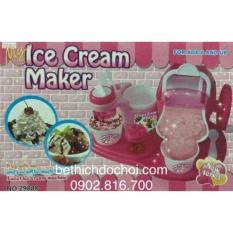 Đồ chơi máy làm kem thật ăn được