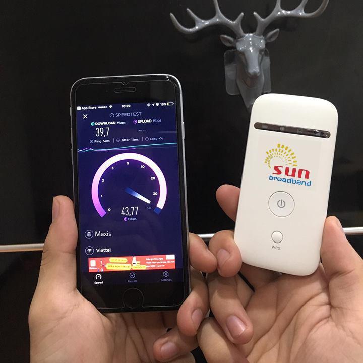 Mua Thiết bị phát Wifi 3G 4G Maxis ZTE MF65 TỐC ĐỘ KHỦNG MỚI RA LÒ ở đâu tốt?