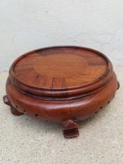 đế bát hương gỗ hương kích thước cao 8x18x18