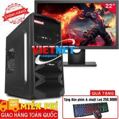 Máy tính để bàn intel core i5 2400 RAM 8GB 250GB Lcd Dell 22 inch Wide