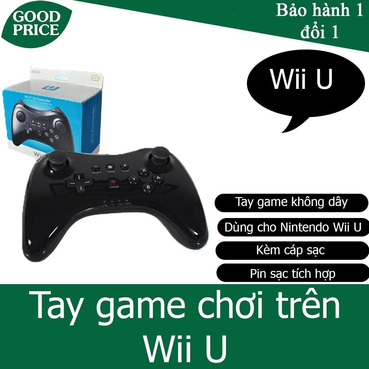 Tay game không dây cho Nintendo Wii U - gamepad Wii U