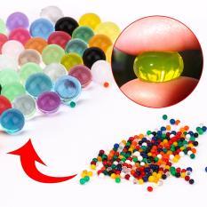 01 bọc 10.000 hạt nở gel Orbeez – Hạt thủy tinh ngậm nước – Đất pha lê – Đan nước sung bi (Size 11 – 13mm) – Màu sắc ngẫu nhiên
